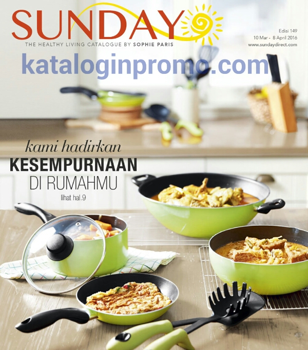Katalog Sunday Terbaru 10 Maret – 8 April 2016