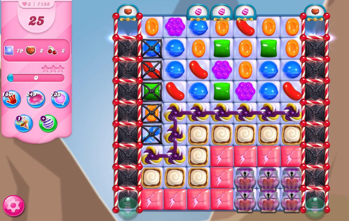 Candy Crush Saga level 7155