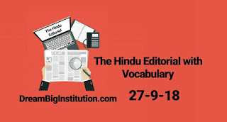 The Hindu Editorial