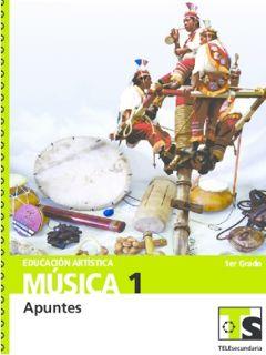 Libro de TelesecundariaMúsica Educación ArtísticaIPrimer grado2016-2017