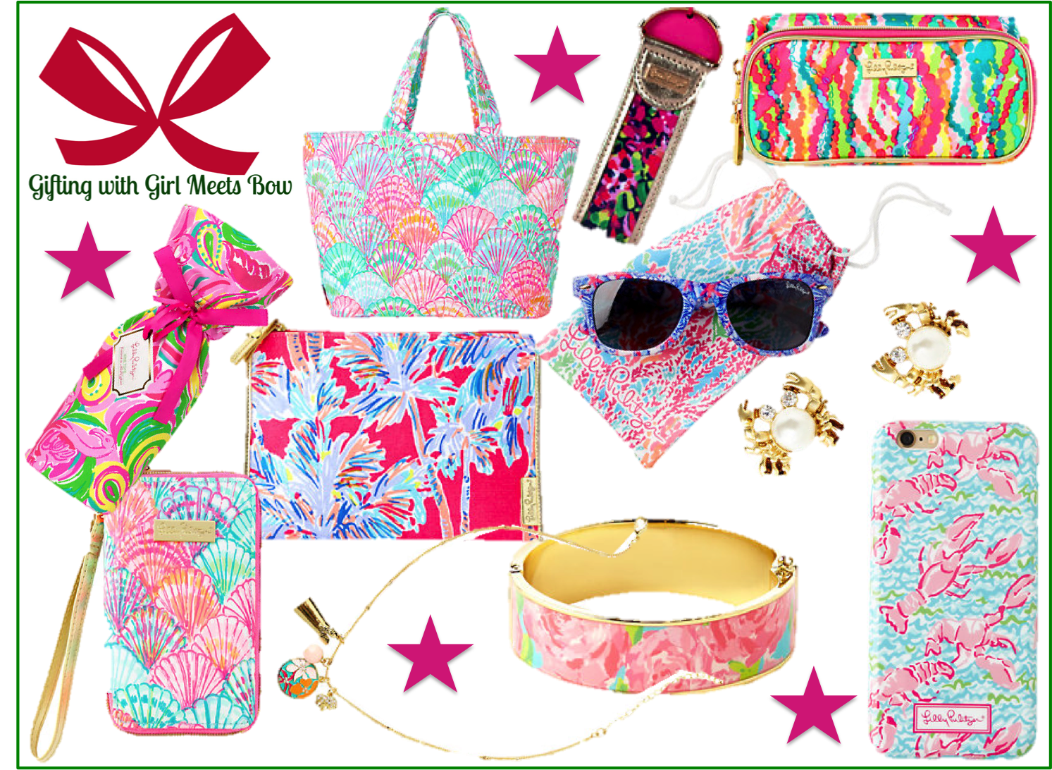 Gifting with Girl Meets Bow: For the Lilly Lover (Under $75!)