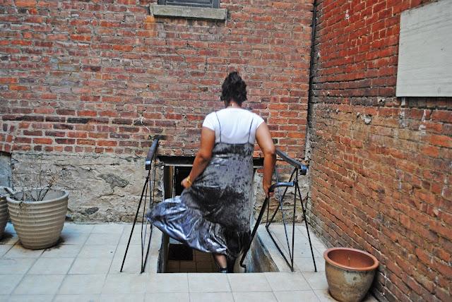 Edie's Closet Velvet Dress, style blogger