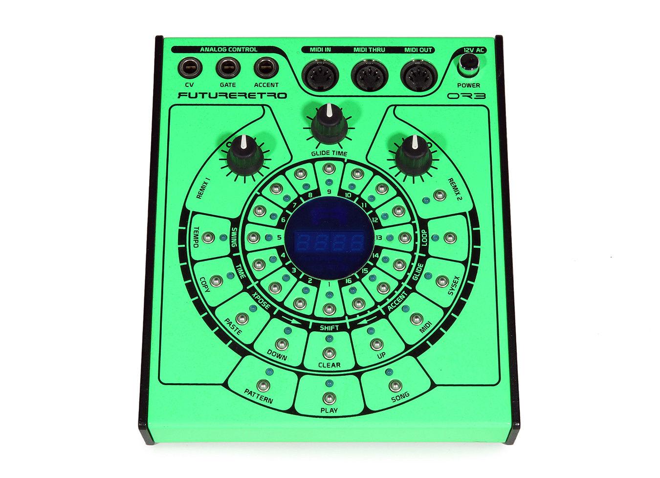 Matrixsynth Special Edition Green Future Retro Orb Sequencer