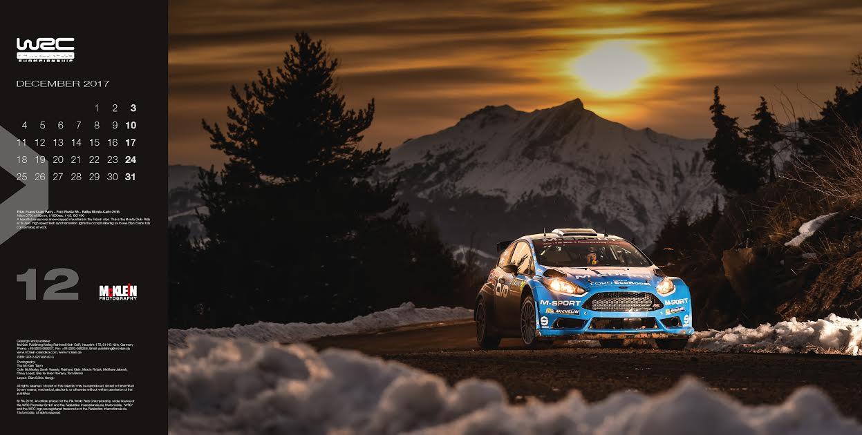 McKlein Rally Calendar: The Wider View 2017