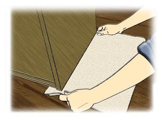 Como mover objetos pesados, tapetes deslisantes