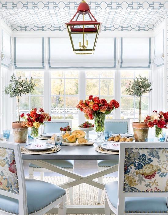 ashley-whittaker-breakfast-room-2 Home Tour: Spring Awakening In Darien Interior