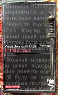 Portada de El libro negro, de Vasili Grossman e Ilyá Ehrenburg