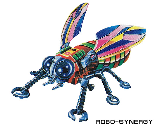 INVADING INSECTS - TOY ARTWORK