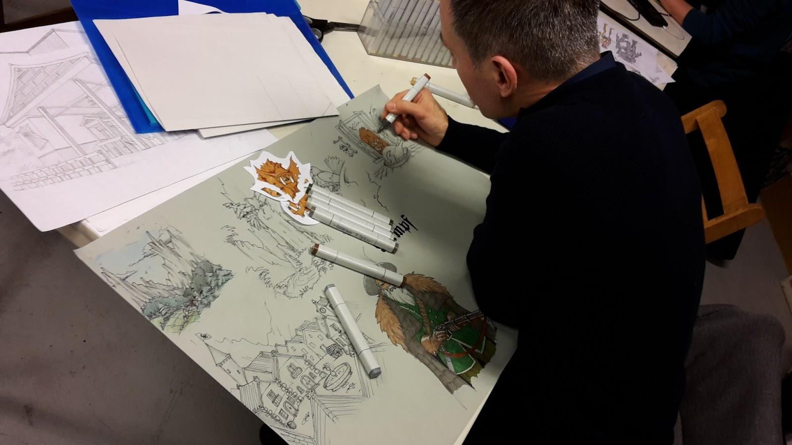 Character Design Opleiding : Tips en tekenles concept art character design