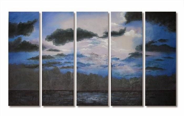 Πίνακας ζωγραφικής σε 5 κομμάτια