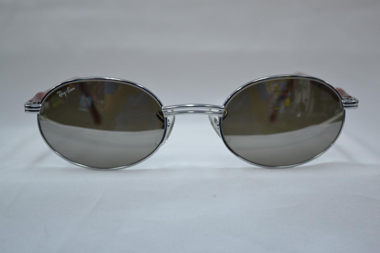 4a9b62e4b19 Vintage sunglass  Vintage Ray Ban Rituals W2545 G31 mirror lens NOS