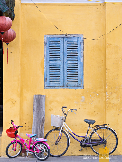 Hoi An Ancient Town Vietnam Bicycles