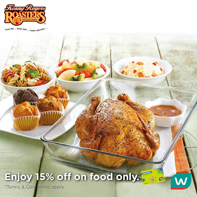 Watsons VIP Card Kenny Rogers ROASTERS Discount Promo
