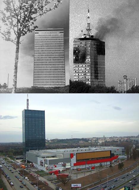 Resultado de imagen de torre usce belgrado