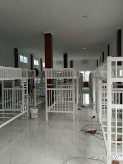Ranjang tingkat besi Bogor