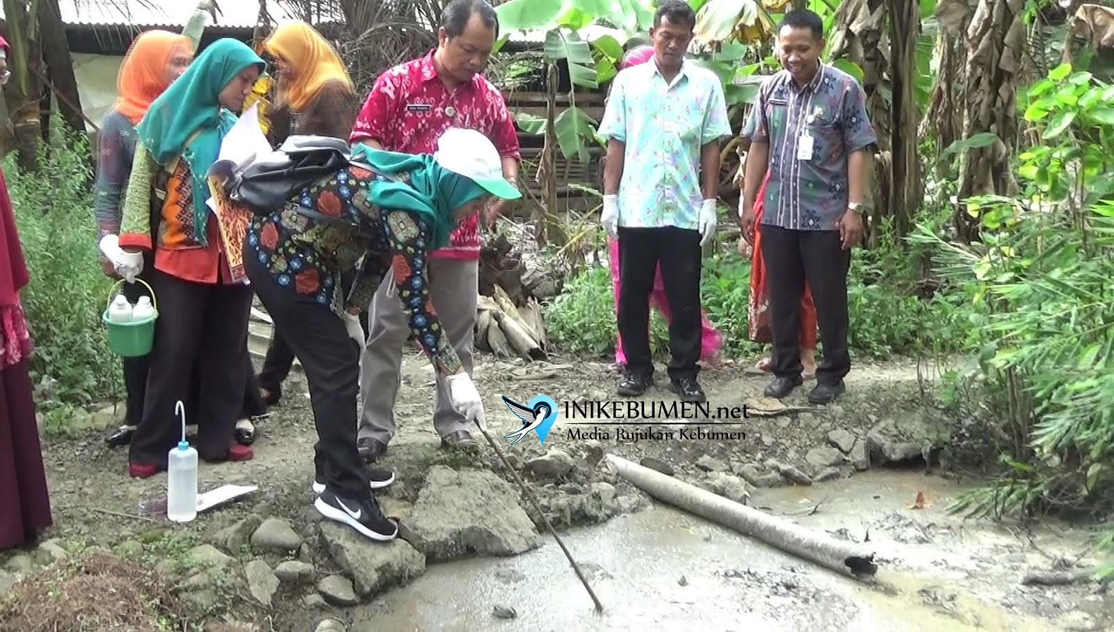 Buktikan Dugaan Pencemaran, Sampel Limbah Lanting di Kuwarasan Diteliti