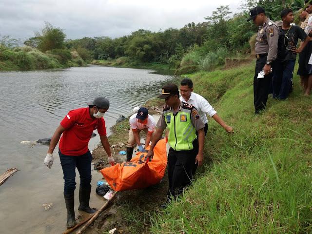 Mayat Laki-laki Ditemukan Mengapung di Sungai Lukulo