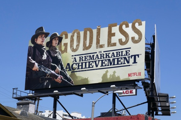 Godless Emmy nominee extension billboard