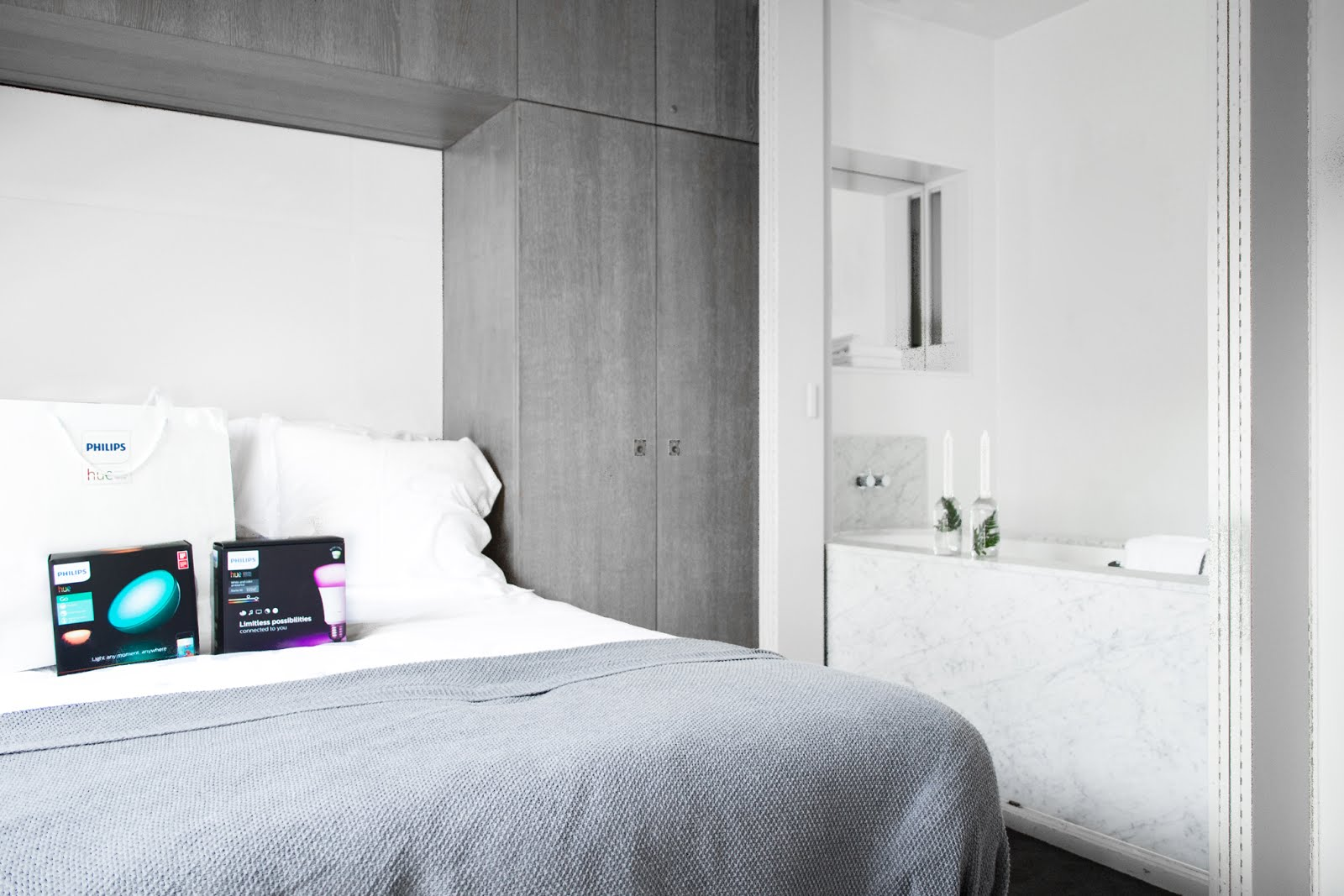 Philips hue, wireless light, wellbeing, event, hotel julien antwerp, hotelroom