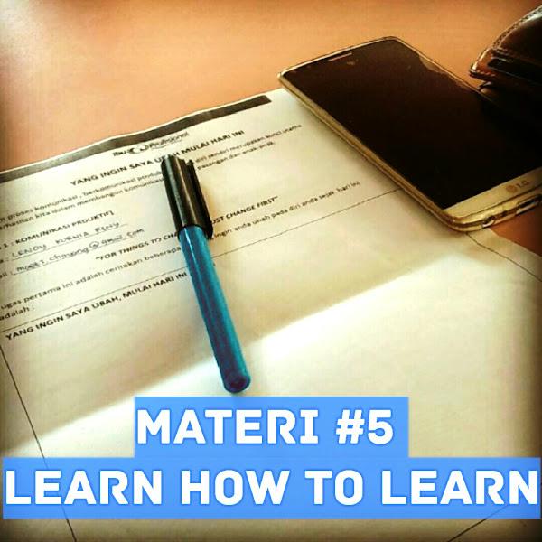 [Bunda Cekatan] Belajar Bagaimana Caranya Belajar