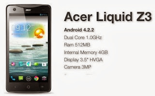Acer Liquid Z3 Android Jelly Bean Murah Rp 700 Ribuan
