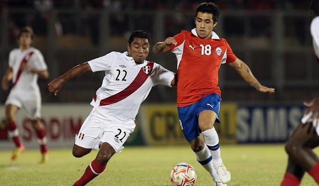 Chile y Perú en Copa del Pacífico 2012, 21 de marzo