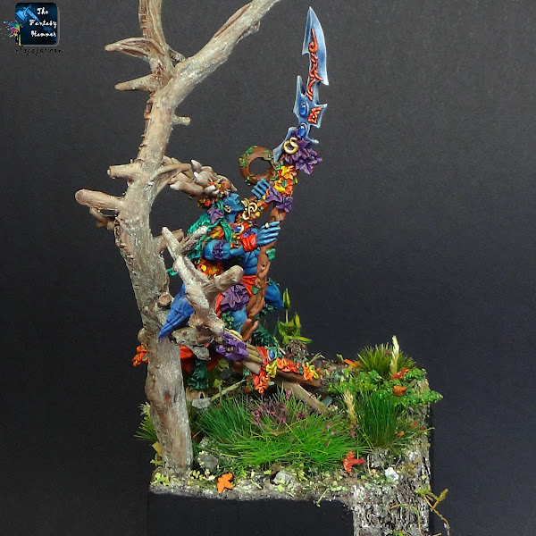 Orion, King in the Woods Wood Elves display