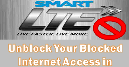 How to access blocked website android