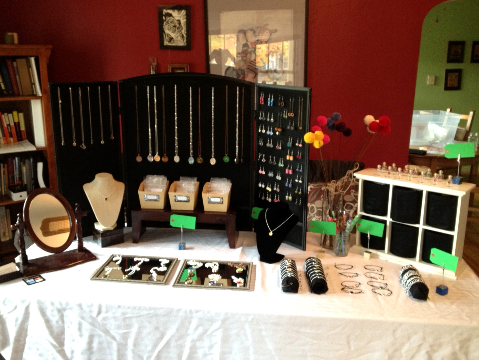 Tabletop Display Craft Shows