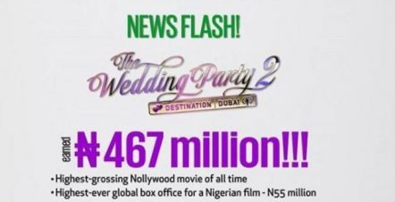 Mo Abudu: Wedding Party 2 earned Over N467m in 5 weeks