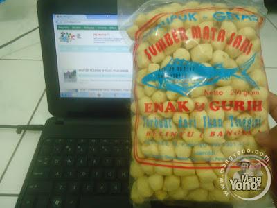 Kerupuk Getas Makanan Khas Pulau Bangka