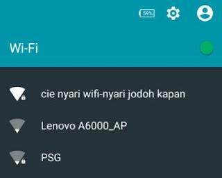 34 Nama-Nama Jaringan WiFi Kocak