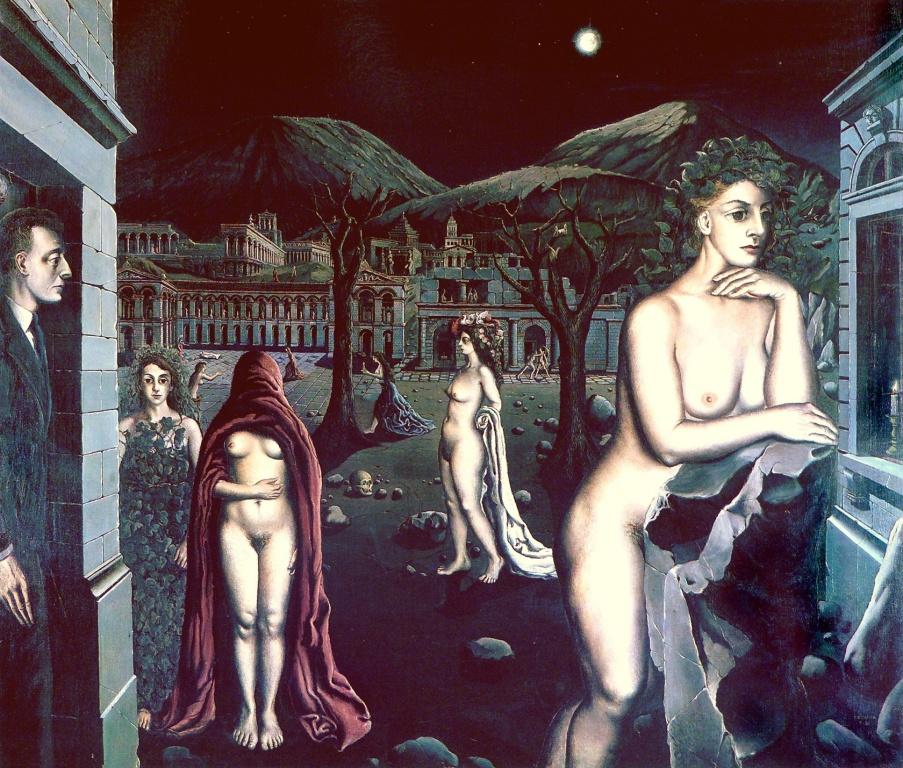 Where Is Paul Delvaux Girls Of Desire 1