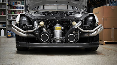 Alpha G Nissan GTR R-35 by AMS Performance Specs