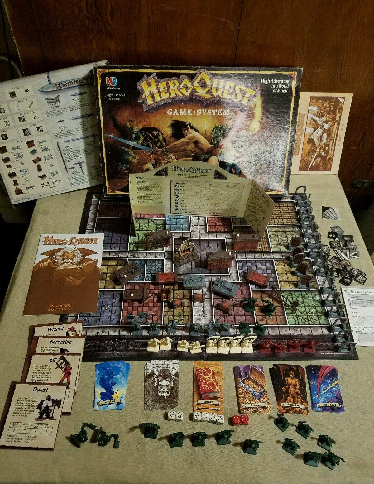 Hero Quest Brettspiel