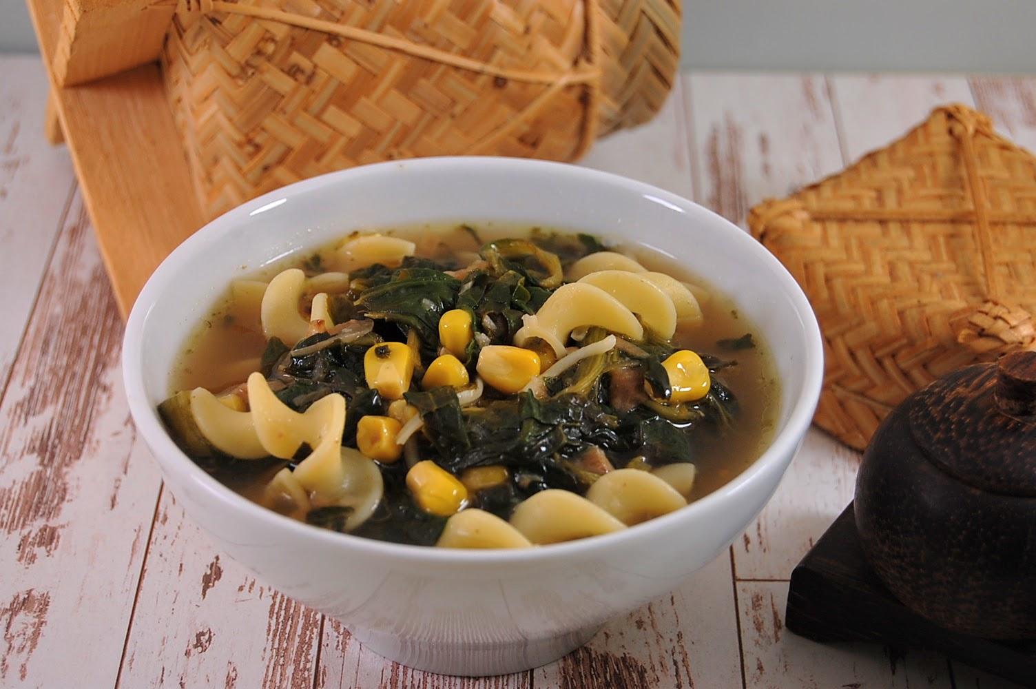 Sayur Asam Rezept - Frisch-Säuerliche Gemüsesuppe