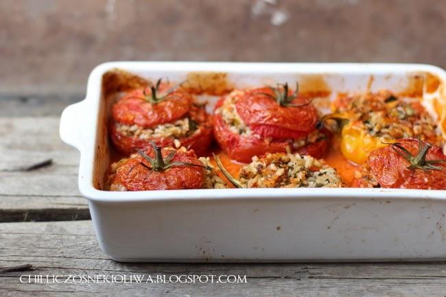 pomidory faszerowane ryzem