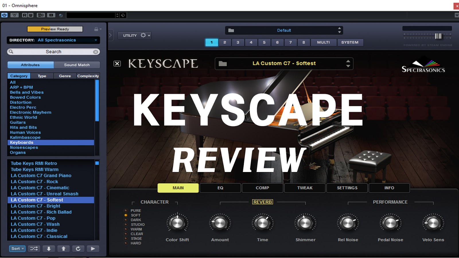 My humble review in Spectrasonics Keyscape - Piano World Piano