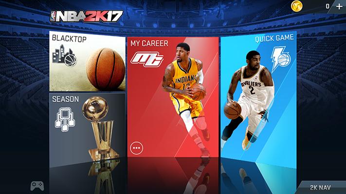 Oppo F3 NBA 2K17 Games