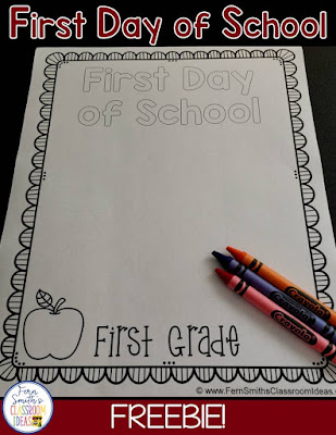 Back to School Coloring Pages for All Grade Levels for the First Day of School & Last Day of School