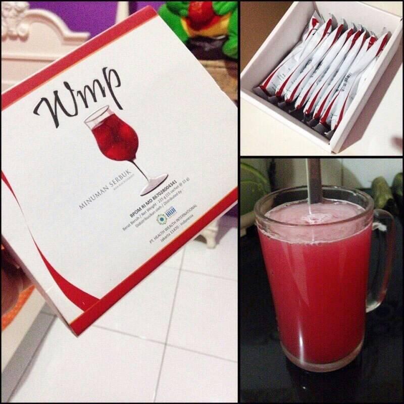 WMP HWI Minuman Serbuk Cara Diet Aman