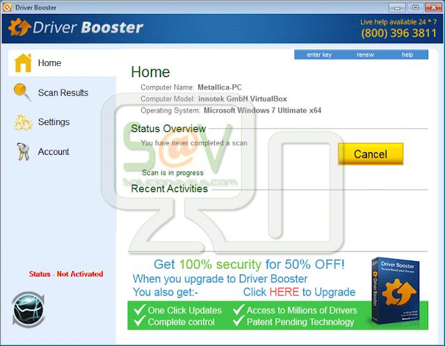 Driver Booster (Falso optimizador)