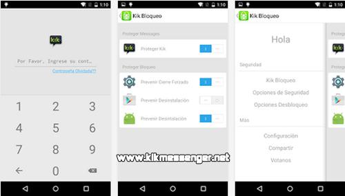 Protege tus chats y mensajes de Kik con KikLock