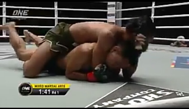 Kingdom OF Heroes : Ramon Gonzales  Rear-Naked choke Dodi Mardian
