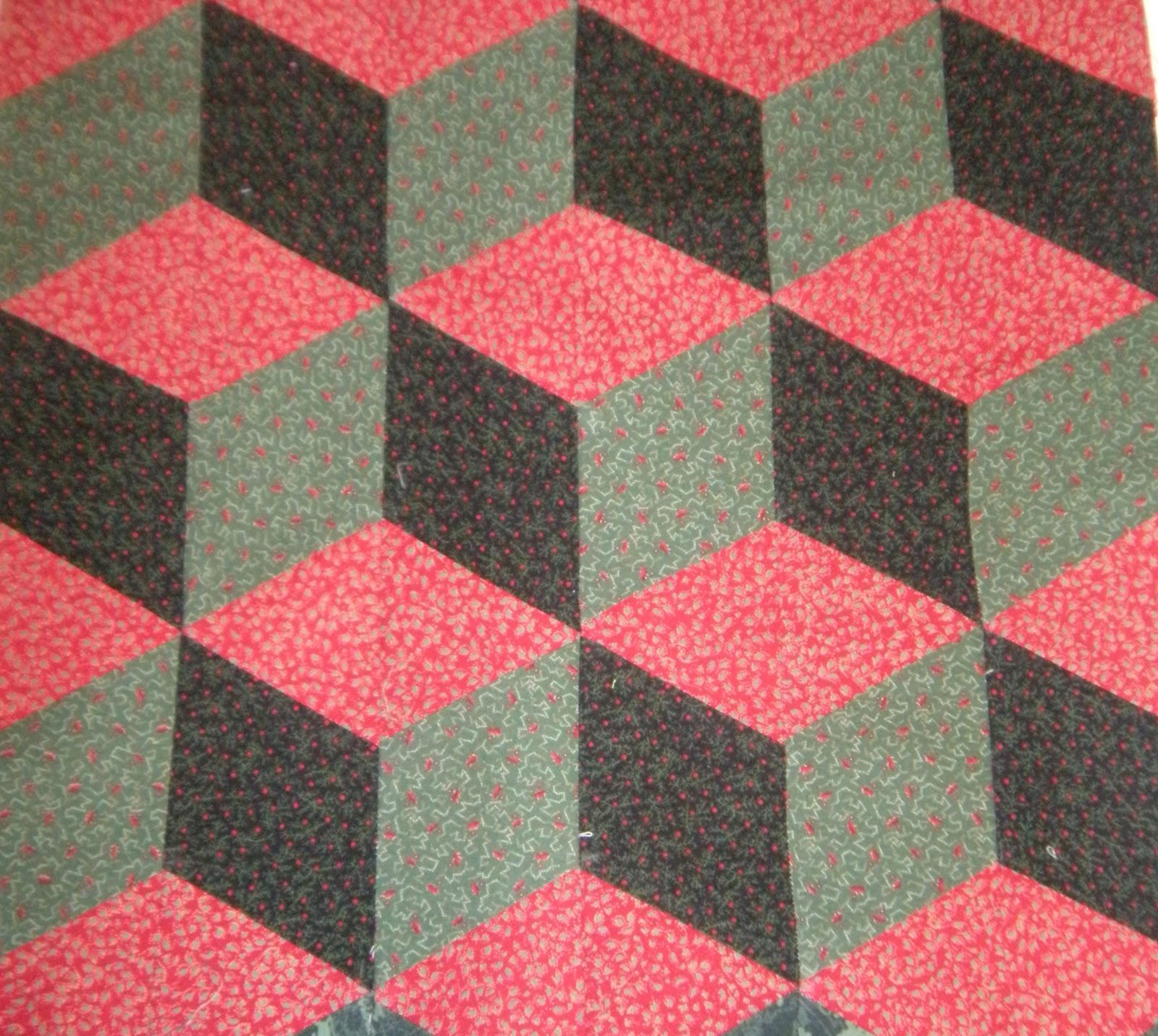 3 Fabric Quilt Patterns Unique Design