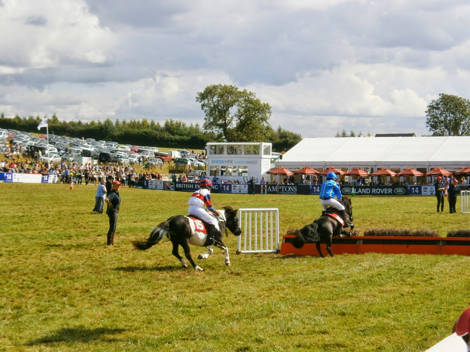 Shetland Pony Grand National at Gatcombe Festival of Eventing