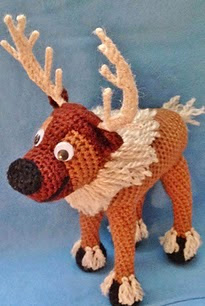 http://www.ravelry.com/patterns/library/crocheted-reindeer-based-on-frozens-sven