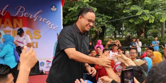 Monas Dibuka Kembali, Diawali Acara Zikir Bersama Gubernur Anies