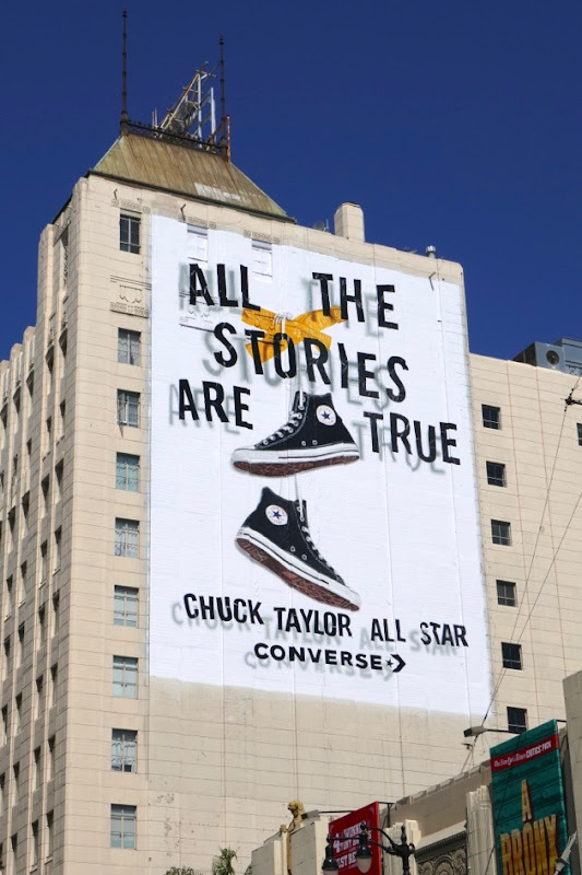 All stories true Check Taylor All Star Converse billboard