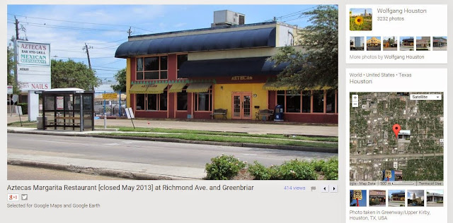 Aztecas - Mexican Restaurant and Bar on Richmond (archival pic)